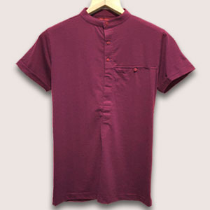 Chinese Collor T Shirts Image