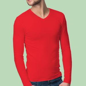 V neck T Shirt Image