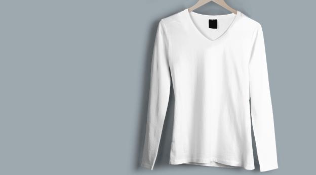 V Neck T-Shirt image