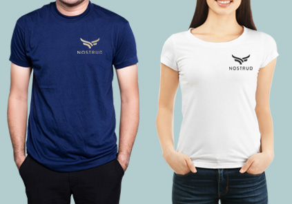 T Shirt with company logo Image