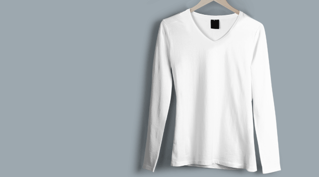 V Neck T-Shirt image
