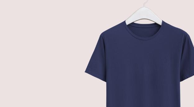 Round Neck T-shirt Stitching image