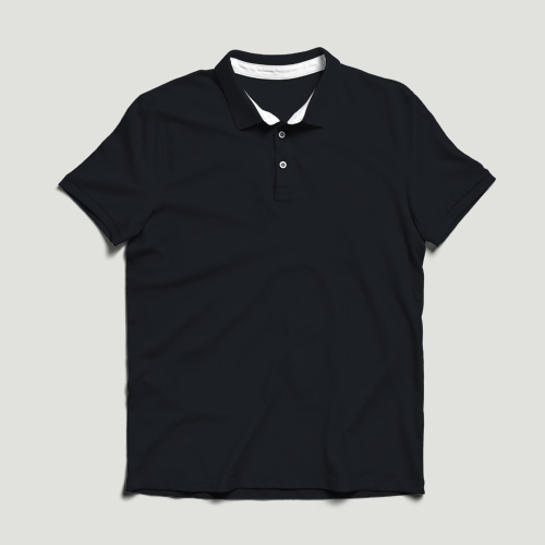 Men Polo Half Sleeves dark-blue image